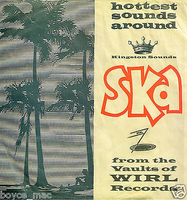 kingston sounds LP : SKATALITES-ska from the vaults of wirl records   (hear)