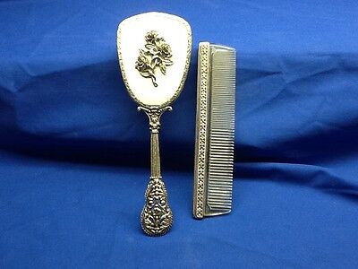 Vintage Brush and Comb by Globe
