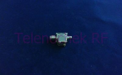 RF microwave single junction isolator 14.3 GHz - 24.0 GHz /  10 Watt / data