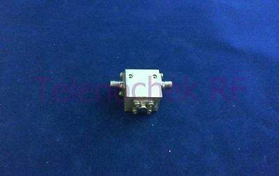 RF microwave single junction isolator 4600 MHz - 8000 MHz /  20 Watt / data