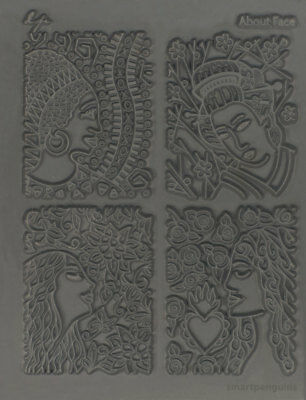 Lisa Pavelka Texture Stamp Mold Sheet Surface Imprinting About Face 527042