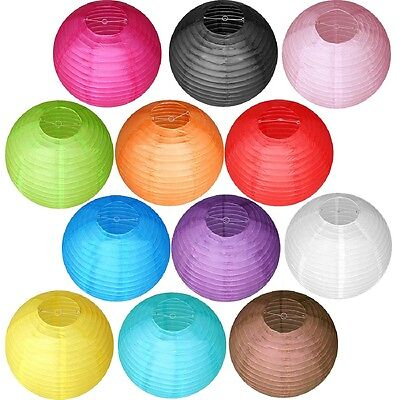 """4"""" 8"""" 12"""" 16"""" 20"""" Traditional Chinese Paper Lanterns Wedding Party supply 10 pcs"""