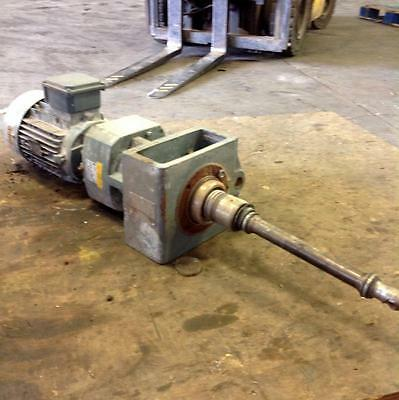 Nord Gear Corporation 5Hp 4.69:1 Ratio Gear Motor Type Sk, Label