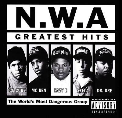 N.W.A. - GREATEST HITS D/Remastered CD DR DRE~ICE CUBE~EAZY E~RAP 80's NWA *NEW*