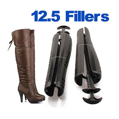 1Pair Boots Stand Holder Shaper Shoes Tree Stretcher Support Organizer w/ Handle