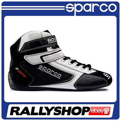 Sparco K-Pro SH-5 shoes, size 39  Black Sport Boots Race, Rally, Kart, Racing