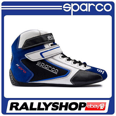 Sparco K-Pro SH-5 shoes, size 46 Blue CHEAP DELIVERY (Race, Rally, Kart)