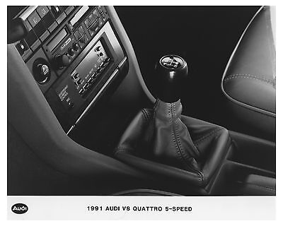 1991 Audi V8 Quattro 5 Speed Automobile Factory Photo ch7508