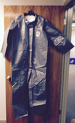 Case/4 Dupont Tyvek Saranex Coveralls/suits. Ppe Zip Front. New. Size Large