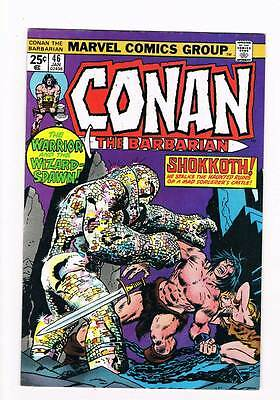 Conan # 46  Warrior & the Wizard-Spawn grade 7.5 super scarce hot book !!