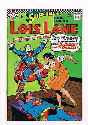 Lois Lane # 73 The Dummy and the Damsel ! grade 6.0 scarce book !