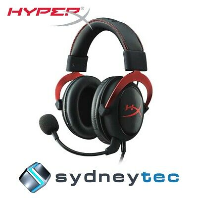 New Kingston HyperX Cloud II Gaming Headset Red