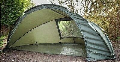 Sonik Sports NEW SKS Waterproof Lightweight Carp Fishing Day Shelter