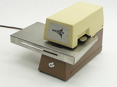 Widmer S3 S-3 Sx-3 Sx3 Electronic Check Document Invoice Signer Stamp Stamper