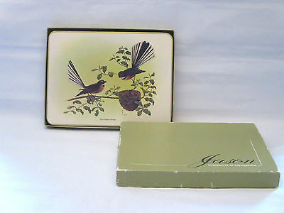 Jason Products Placemats Of Distinction Set 6 New Zealand Birds