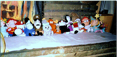 rocky and bullwinkle dolls (CVS) complete set of 12
