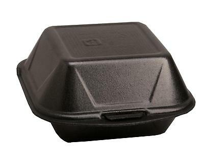 500 Hamburgerboxen Hamburger Box schwarz IP6 Menübox Lunchbox