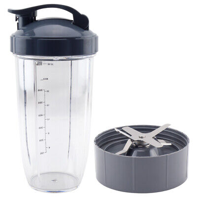 NutriBullet Nutri Bullet Extractor Blade + 32 OZ Colossal Cup Flip Top Lid Combo