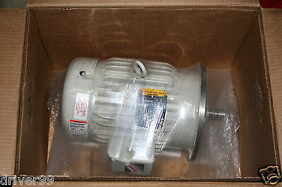 5 HP Super E Baldor Inverted Rated Motor For Milling Mach Frequency Drive VFD