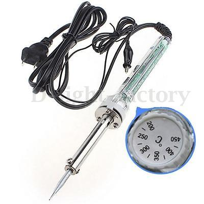60W/220V Electric Professional Ajustable Temp Temperature Solder Iron Tool