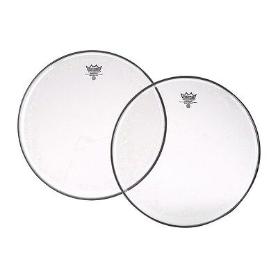 "Remo Emperor Clear Tom/Snare Heads - 6"" - 16"",  Free Express Delivery"