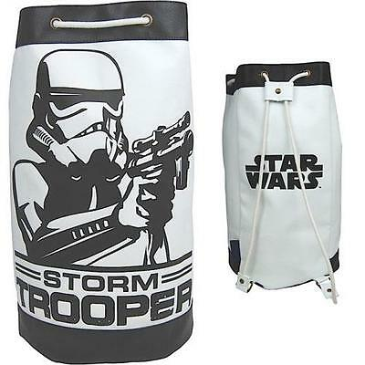 Star Wars - Stormtrooper Retro Styled Faux Leather Duffle Bag - New & Official