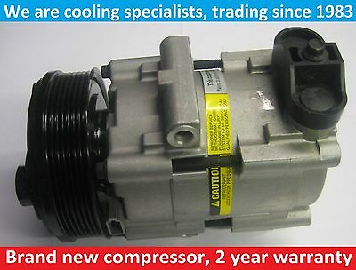 Brand New Air Con Compressor/pump Ford Transit 2.4 Tdci 2000 To 2006 / Tx2 Taxi