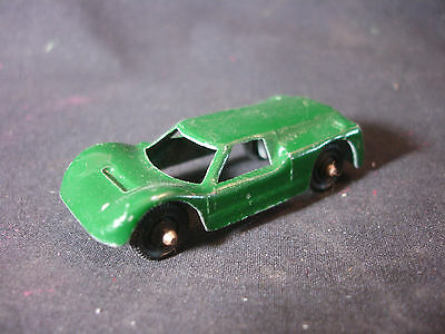 Old Vtg Antique Diecast Tootsietoy GT Ford #2 Green Toy Car