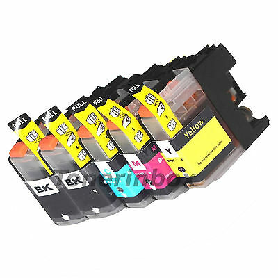 5pk LC203 XL Compatible Ink For Brother MFC-J4320W MFC-J4420DW MFC-J4620D w/Chip