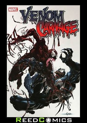 VENOM VS CARNAGE GRAPHIC NOVEL New Paperback Collects 4 Issue Mini Series