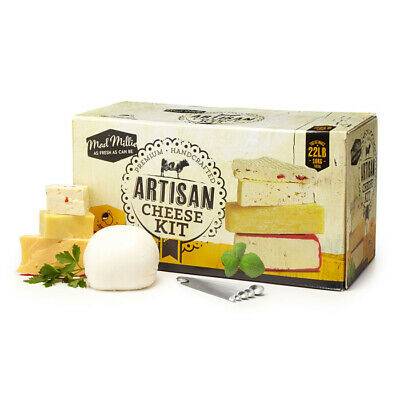 Mad Millie Fresh Artisan Cheese Making Kit