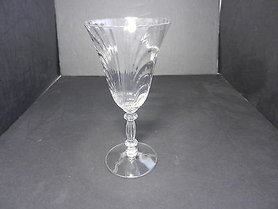 """Cambridge Caprice #300 Water Goblet Clear Crystal 7 5/8"""" T ca 1936-1958"""