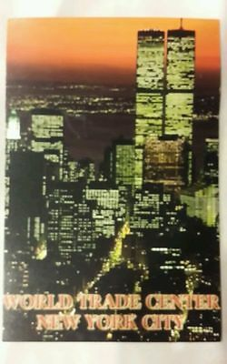New York City Postcard ~ Twin Towers Post Card World Trade Center Finan-District