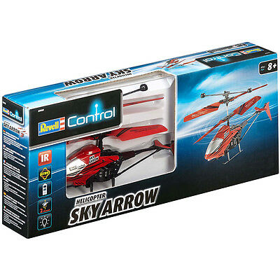 """Revell Remote Control Helicopter """"Sky Arrow"""" In RED NEW"""