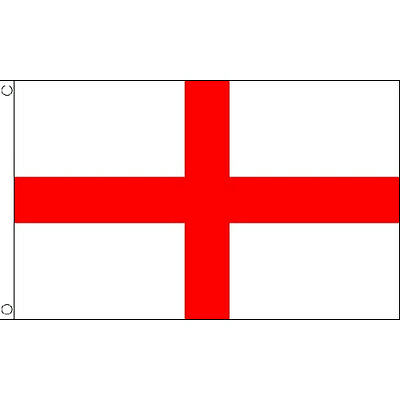 St George Cross Large Flag 8Ft X 5Ft England St Georges Day Banners With Eyelets