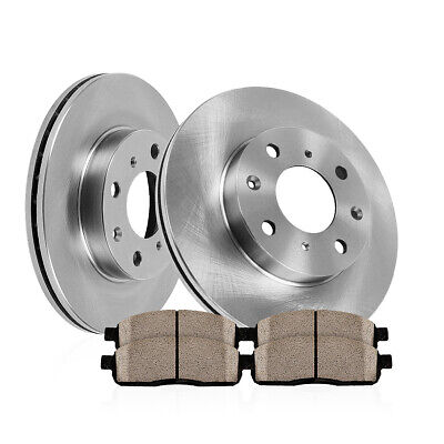 Front Rotors & Ceramic Pads Fit 1998 1999 2000 2001 2002 Toyota Corolla Chevy