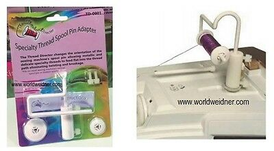 The Thread Director Specialty& Metallic Sewing Embroidery Spool Cone Pin Adapter