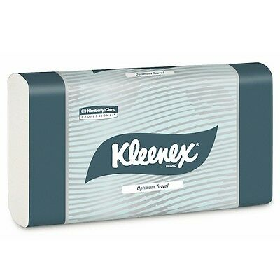 Kimberly Clark Kleenex® Optimum Hand Towel 20 Packs 120 Towels (4456)