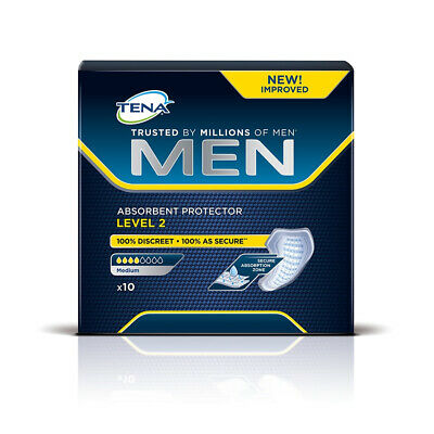 TENA Men Absorbent Protector - Level 2 - Pack of 10