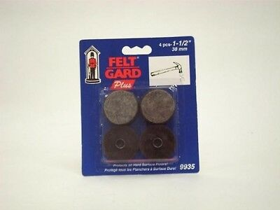 Select Hardware Nail In Felt Pads - 1.5 Inch - Pack of 4