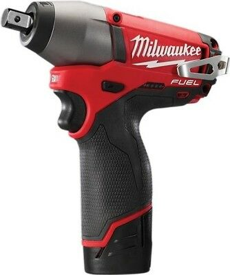Milwaukee M12CIW12-202C Fuel Compact 1/2in Impact Wrench 12V 2 x 2.0Ah Li-Ion