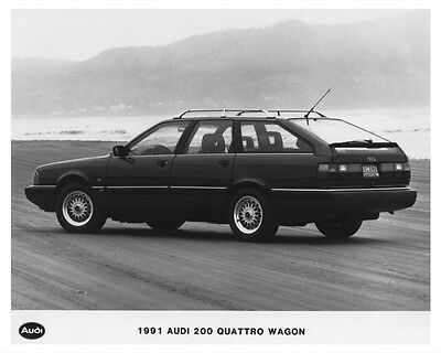 1991 Audi 200 Quattro Wagon Automobile Photo Poster zch7509