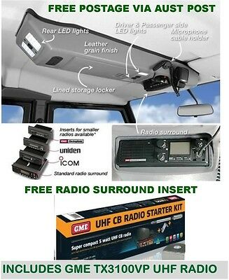 Outback Accessories Roof Consoles Off Road Nissan Patrol Gu Wagon 1997 Onwards