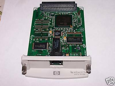 HP JetDirect 615N Ethernet 10/100 Print Server J6057A,One Year Warranty