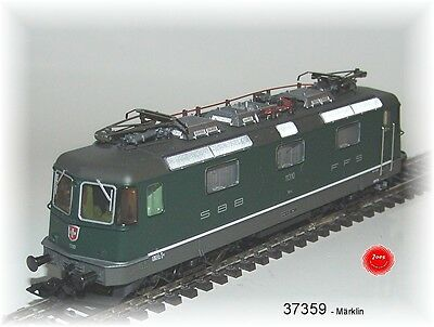 Märklin 37359 E-Lok Serie Re 4/4 II SBB mfxPLUS Sound Metall#NEU in OVP#