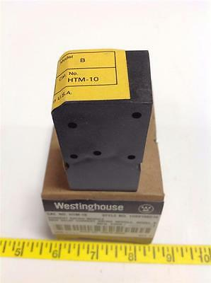 Westinghouse Mor Relay Current Module  Htm-10