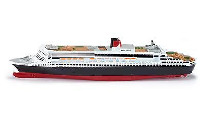 SIKU Queen Mary 2 II Cruise Ship 1:1400 scale Toy Model 24cm long NEW