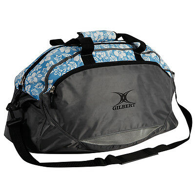 New Gilbert Official Player Floral Netball Sports Training Holdall Bag