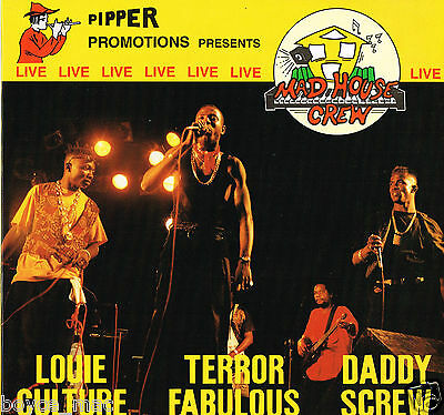 piper records LP : VARIOUS-mad house crew live  (hear)