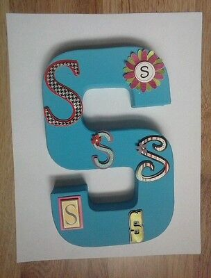 Personalized S letter